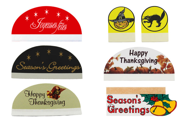 Seasonal Badge Talker Pack