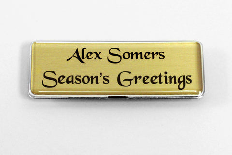 Season's Greetings Badge Kit, 20-units