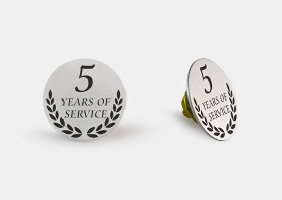 "Circle Luxe Lapel Pin 1"" x 1"" 20 Pack"