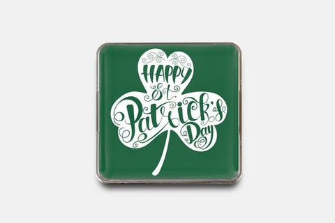 "St Patrick's Day Badge 1.6"" x 1.6"" 20 pcs"