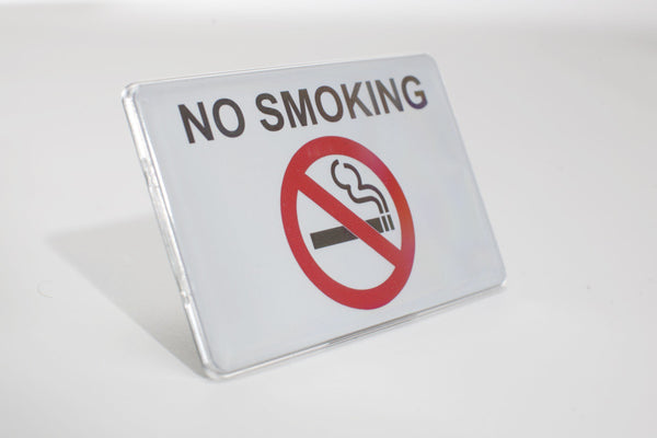 Rectangular White Sign Kit 20-Units