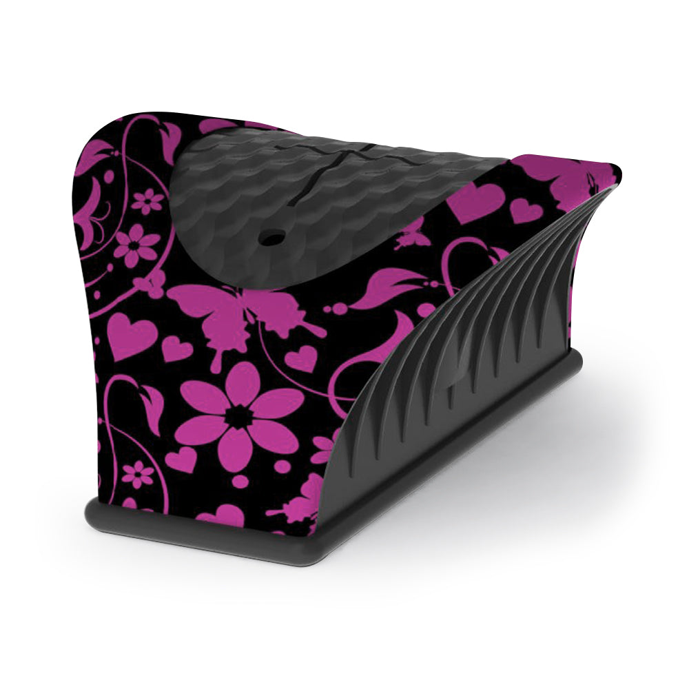 Nail Buddy Nail Bottle Holder Pink Floral Pattern