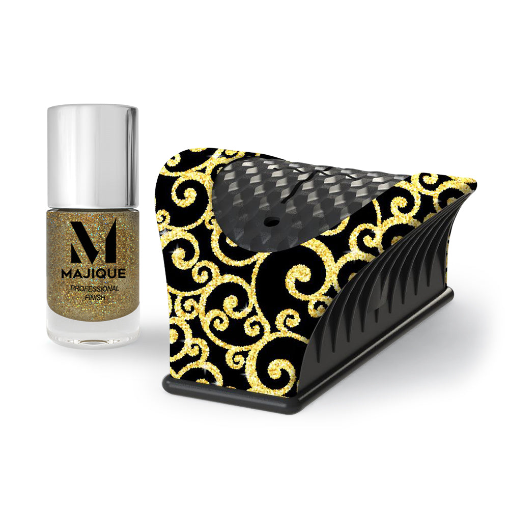 Nail Buddy Small Gift Set - Gold Swirl