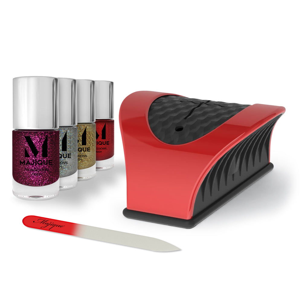 Nail Buddy Deluxe Gift Set - Red
