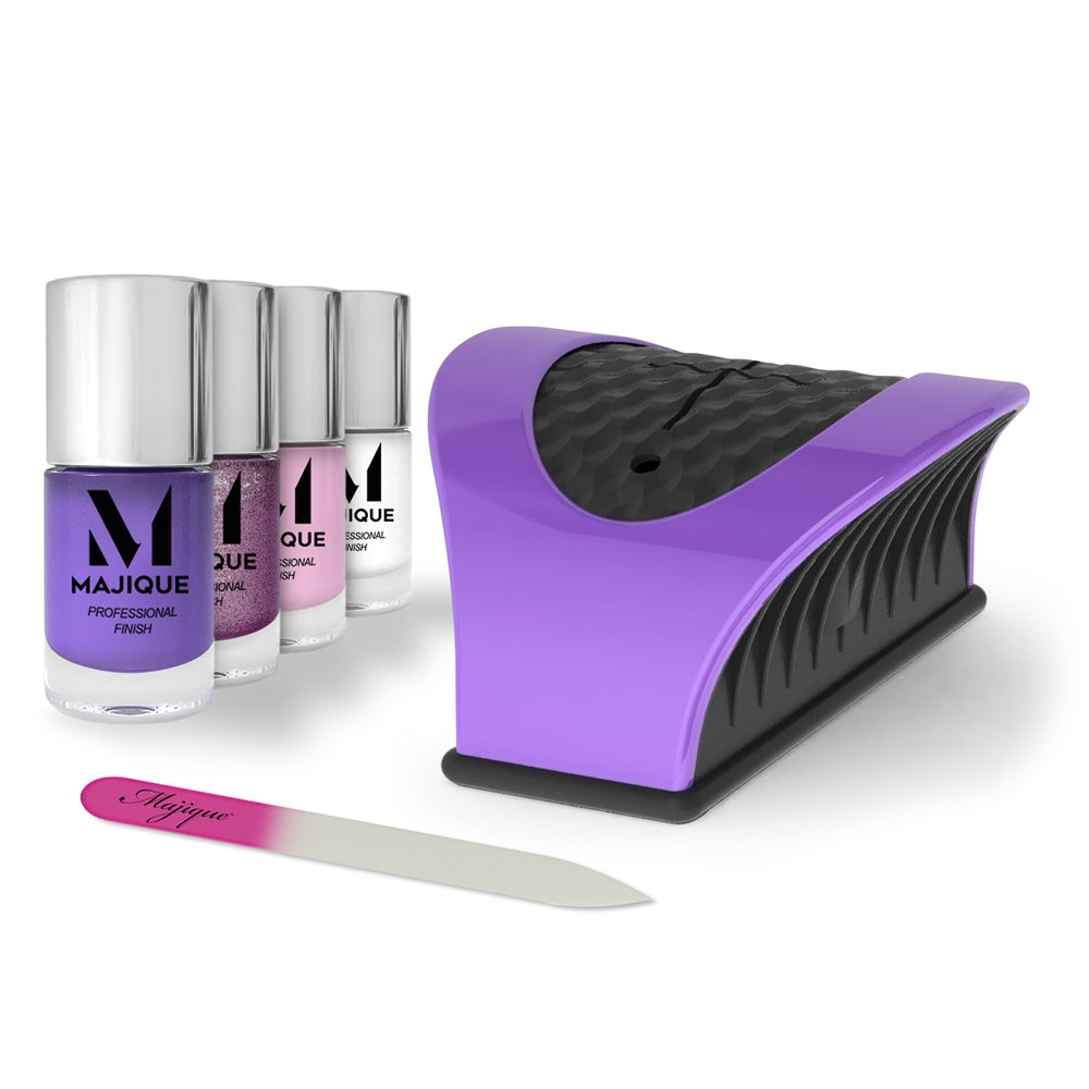 Nail Buddy Deluxe Gift Set - Purple