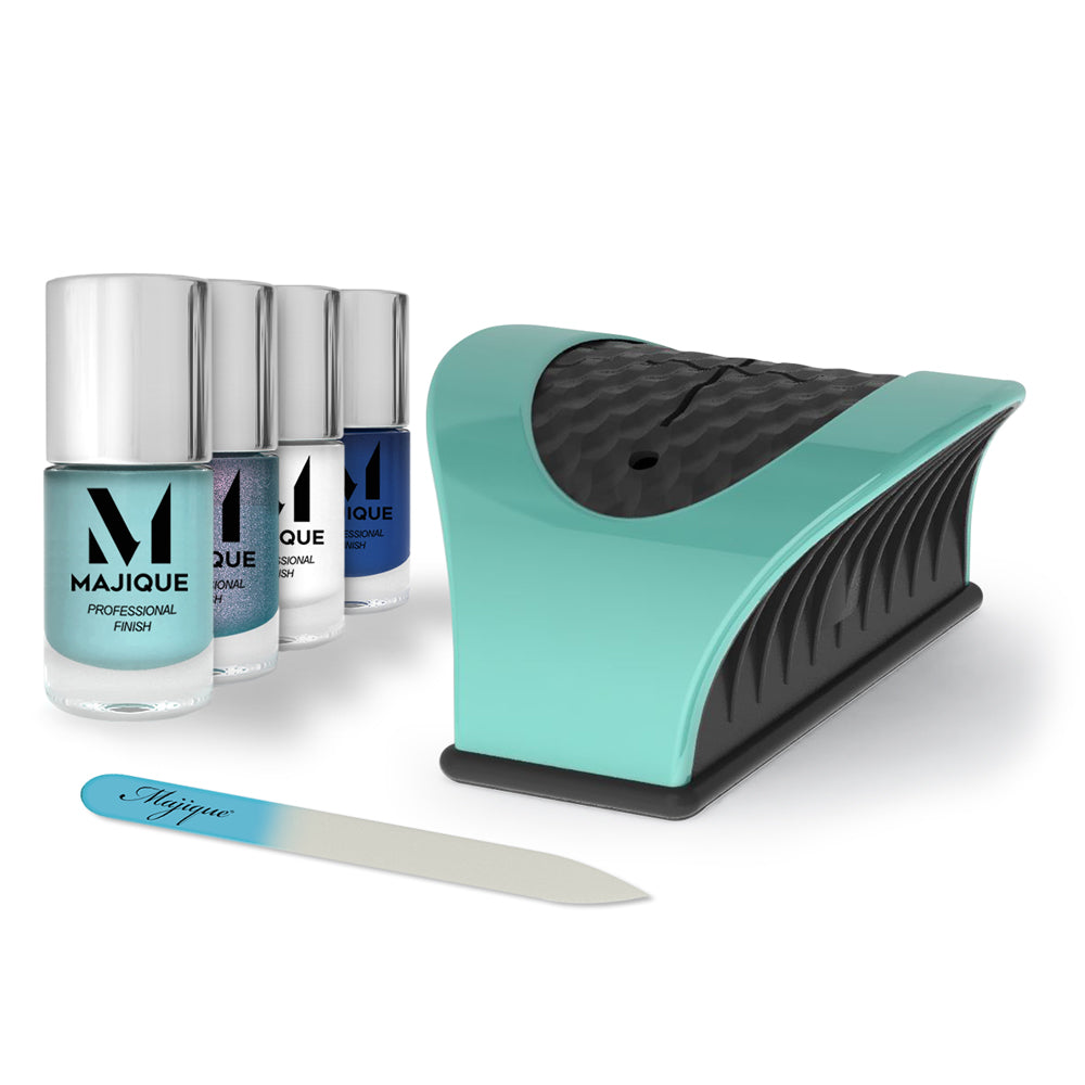 Nail Buddy Deluxe Gift Set - Turquoise