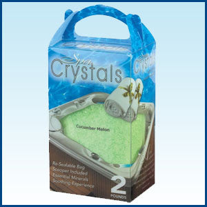 Cucumber Melon Spa Crystals