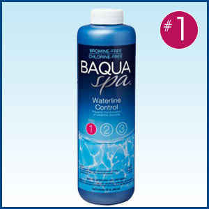 BAQUA Spa® Waterline Control -32 oz bottle