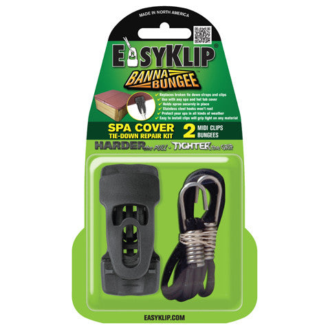EasyKlip Spa Cover Tie-Down Kit