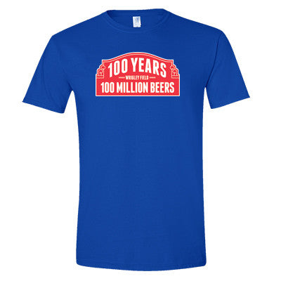 100 Years 100 Million Beers at Wrigley T-Shirt