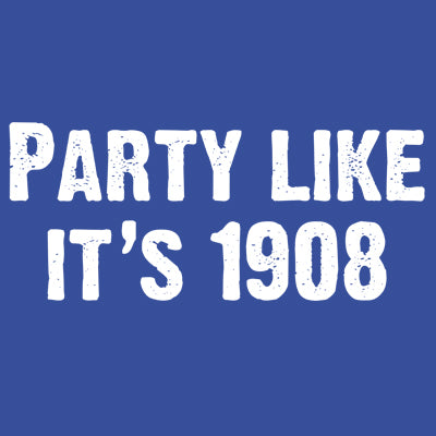 Party Like It's 1908 Onesie