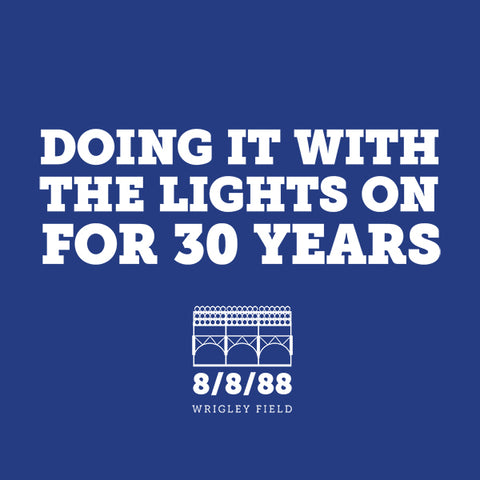 Doing It With the Lights On for 30 Years T-Shirt