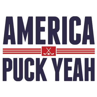 America Puck Yeah Men's T-Shirt