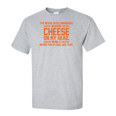 I've Never Considered Wearing Cheese On My Head Men's T-Shirt