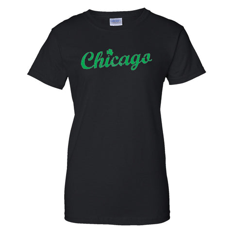 Chicago Shamrock T-Shirt (Men's & Women's)