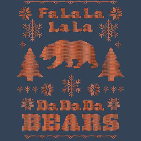 Fa La La La La Da Da Da Bears Ugly Holiday Sweatshirt