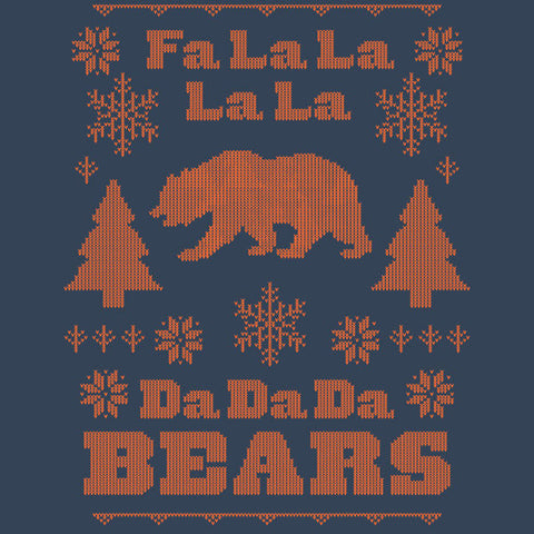 Fa La La La La Da Da Da Bears Ugly Holiday Sweater