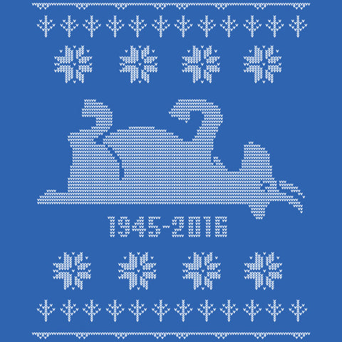 Cubs Goat 1945-2016 Ugly Holiday Sweater