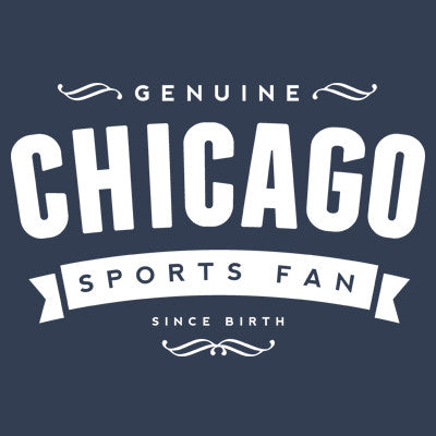 Genuine Chicago Sports Fan Men's T -shirt