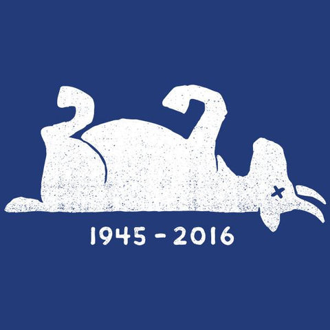 Goat: 1945 - 2016 Men's T-shirt