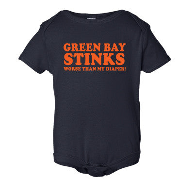 Green Bay Stinks Worse Than My Diaper Onesie