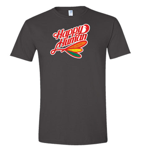 Blackhawks Happy Human T-Shirt