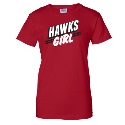 Hawks Girl Women's T-Shirt