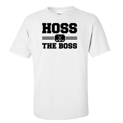 Hoss The Boss Men's T-shirt