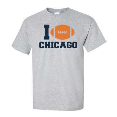 I (Football) Chicago Men's T-Shirt