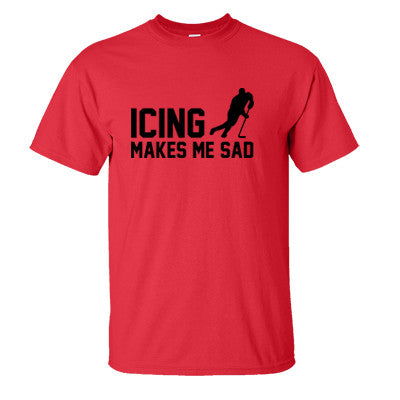 Icing Makes Me Sad Men's T-Shirt