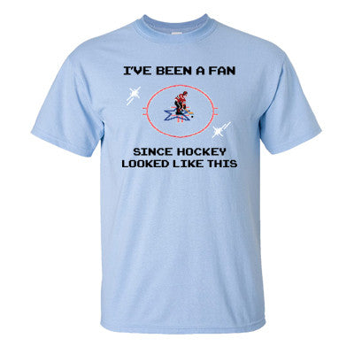 I've Been A Fan Since Hockey Looked Like This T-Shirt