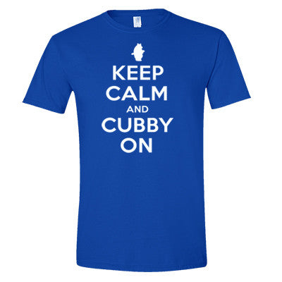 Keep Calm And Cubby On Men's T-Shirt