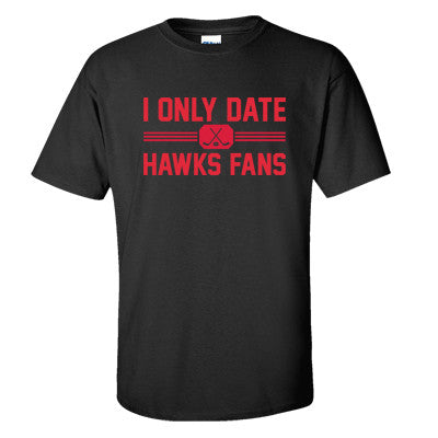 I Only Date Hawks Fans Men's T -shirt