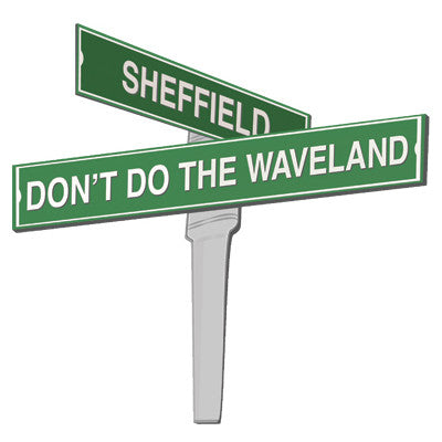 Sheffield & Don't Do The Waveland Men's T-Shirt