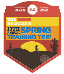 Spring Training 2018 with The Heckler, March 1st to 4th (deposit only)