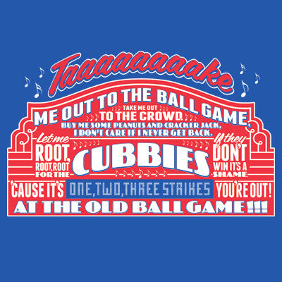 Take Me Out To The Ballgame Men's T-Shirt