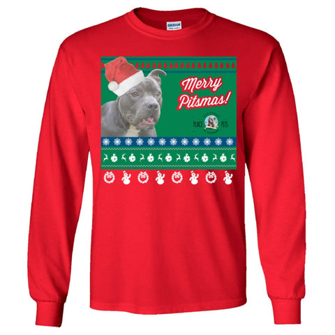 "Merry Pitmas Ugly Holiday Sweater: ""Banks"""