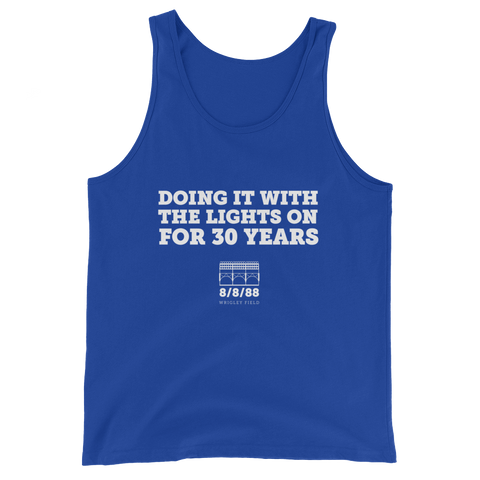Doing It With the Lights On for 30 Years Tank Top