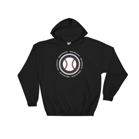Baseball Makes Me Happy Hoody (South Side colors)