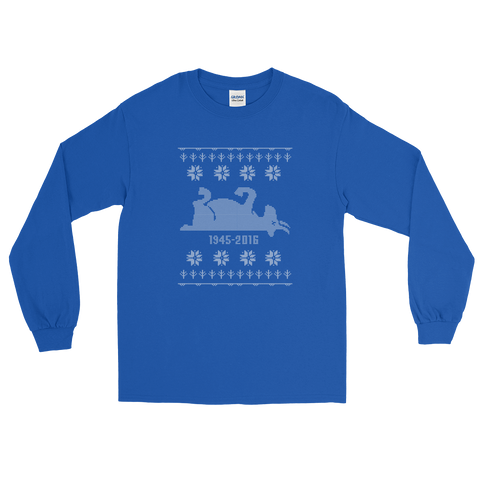Cubs Goat 1945-2016 Ugly Holiday Long Sleeve T-Shirt