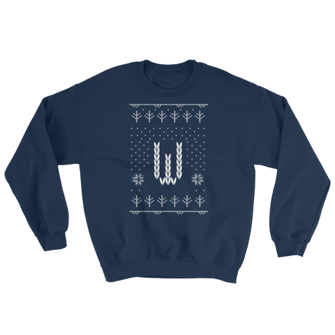 'W' Ugly Holiday Sweatshirt