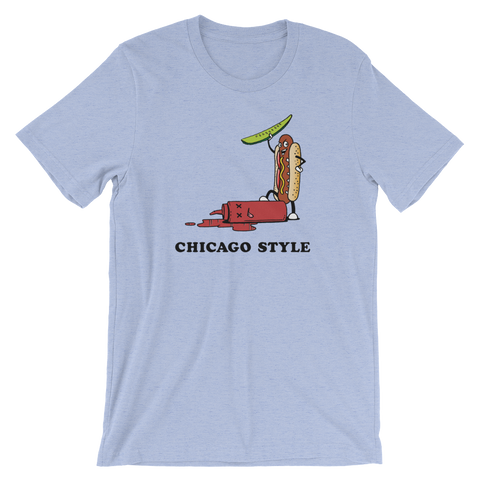 Chicago Style Hot Dog T-Shirt