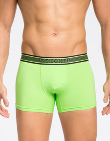 Perforated-Tech - Fitted Boxer - Green