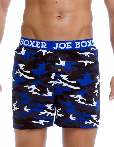 Winter Blues - Fashion Boxer