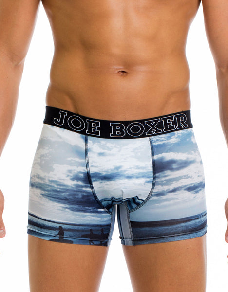 Surfs Up Fashion Fitted Boxer