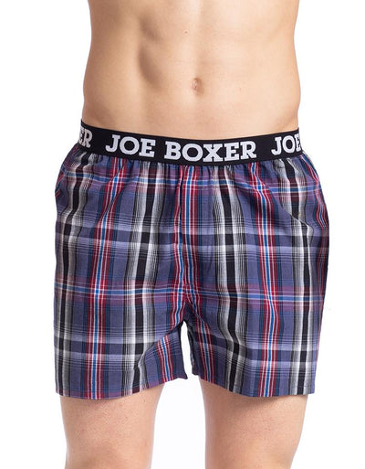 Men's Loose Boxers | Linear Plaid