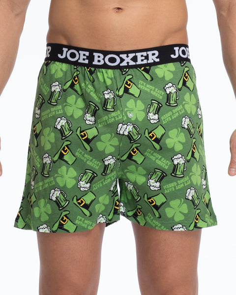 Men's Loose Boxers | Green Dreams