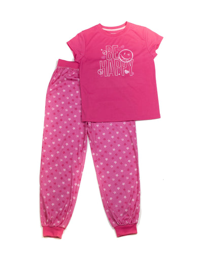 Be Happy Tee and Pant Set - Joe Boxer