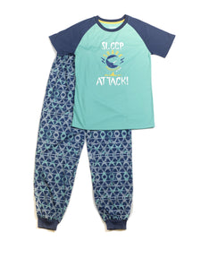 Shark Tee and Pant Set