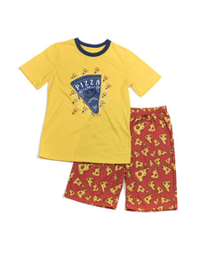 Pizza Tee and Short Set